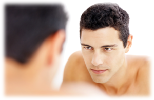 Confident well-groomed men choose electrolysis | American